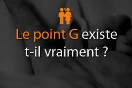 Le point G existe t-il vraiment ?