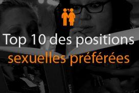 Top 10 des positions sexuelles préférées